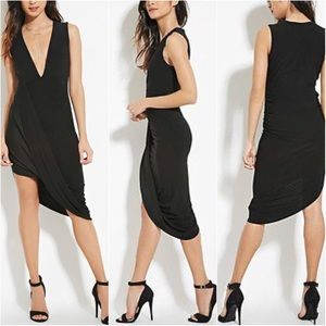 🔥BRAND NEW Asymmetrical Black Dress💥